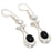 Black Onyx Gemstone Handmade Jewelry Earring 2.2 Inches RJ3782