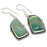 Green Lace Agate Gemstone Ethnic Jewelry Earring 2.0 Inches RJ3818