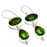 Peridot Gemstone Handmade Ethnic Jewelry Earring 2.1 Inches RJ4011