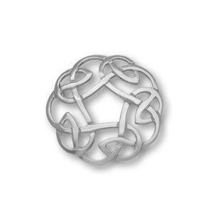 Celtic Silver Brooch B268