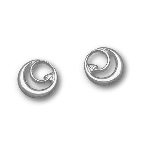 Archibald Knox Silver Earrings E1608