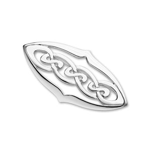 Celtic Silver Brooch B302