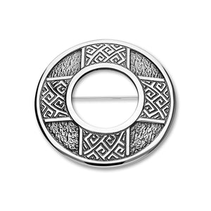 Celtic Silver Brooch B532