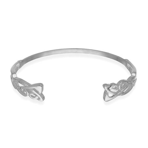 Archibald Knox Silver Bangle BG3