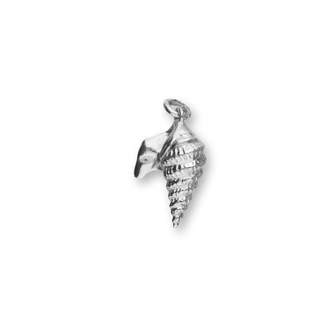 Pelican Foot Shell Silver Charm FC 8
