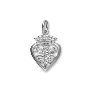Luckenbooth Silver Charm C168
