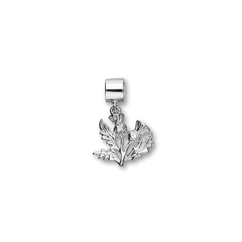 Thistle Silver Charm C319