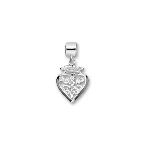 Luckenbooth Silver Charm C328