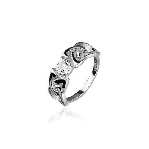 Celtic Silver Ring CR154