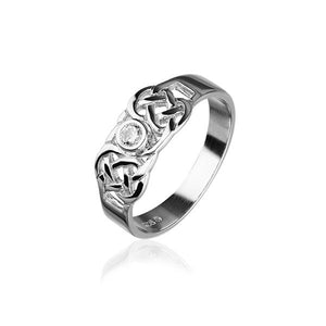 Celtic Silver Ring CR159