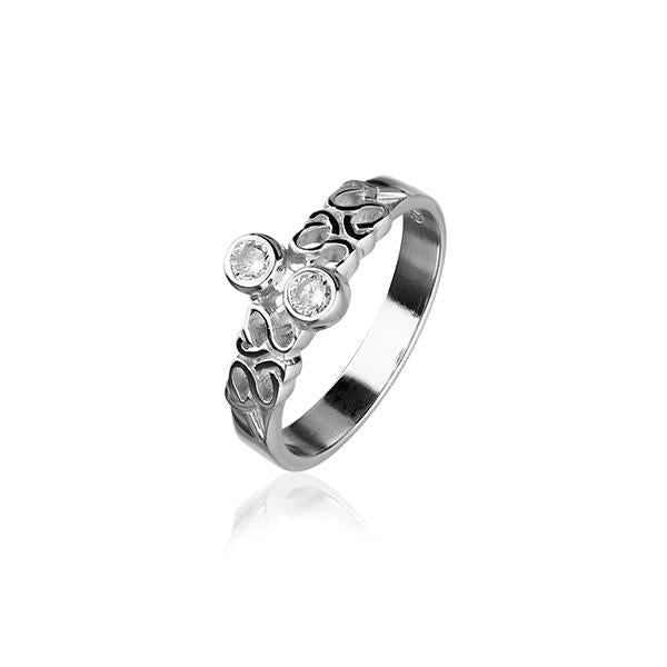 Celtic Silver Ring CR164
