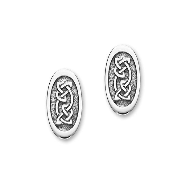 Celtic Silver Earrings E1787