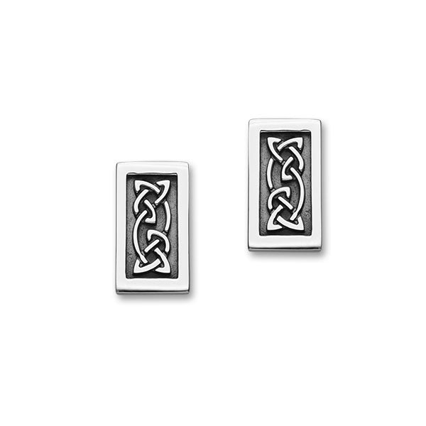 Celtic Silver Earrings E1811