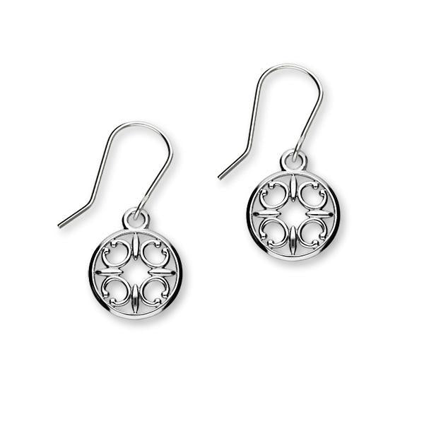 St Magnus Silver Earrings E1911