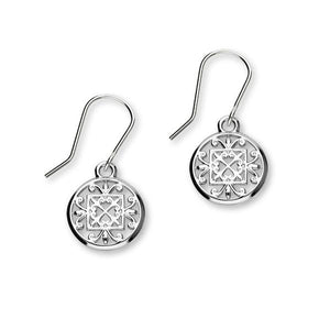 St Magnus Silver Earrings E1913