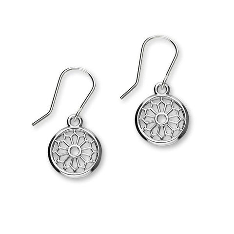 St Magnus Silver Earrings E1917