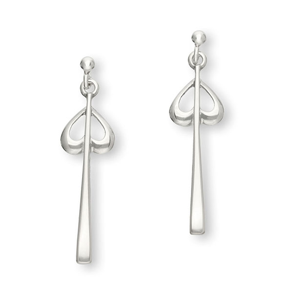 Charles Rennie Mackintosh Silver Earrings E269