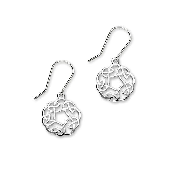 Celtic Silver Earrings E322