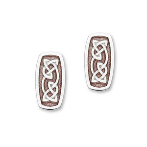 Celtic Silver Earrings EE527