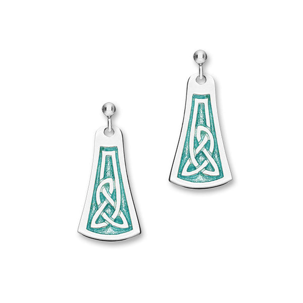 Celtic Silver Earrings EE530