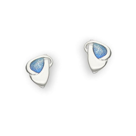 Archibald Knox Silver Earrings EE78