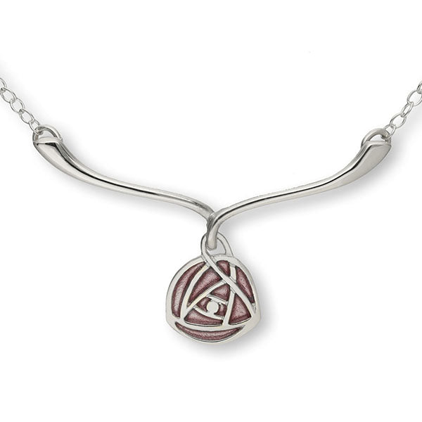 Charles Rennie Mackintosh Silver Necklet EN19