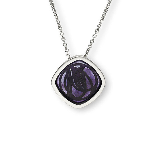 Charles Rennie Mackintosh Silver Pendant EP105