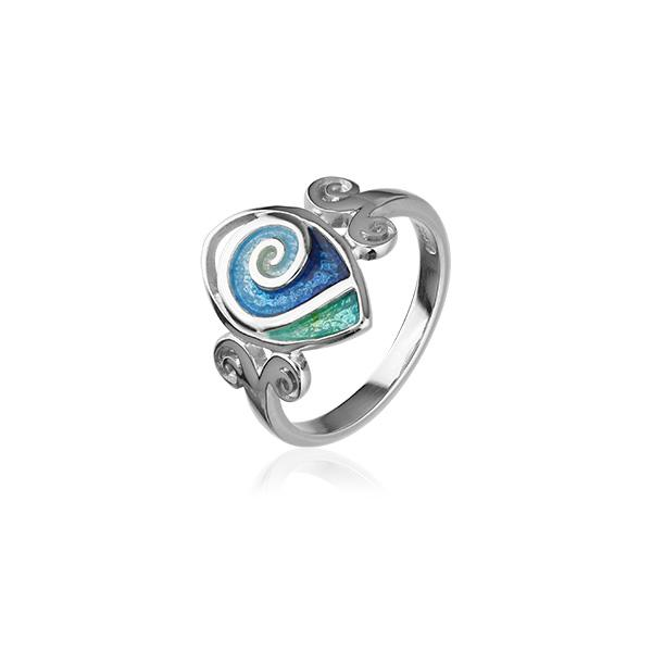 Tranquility Silver Ring ER104