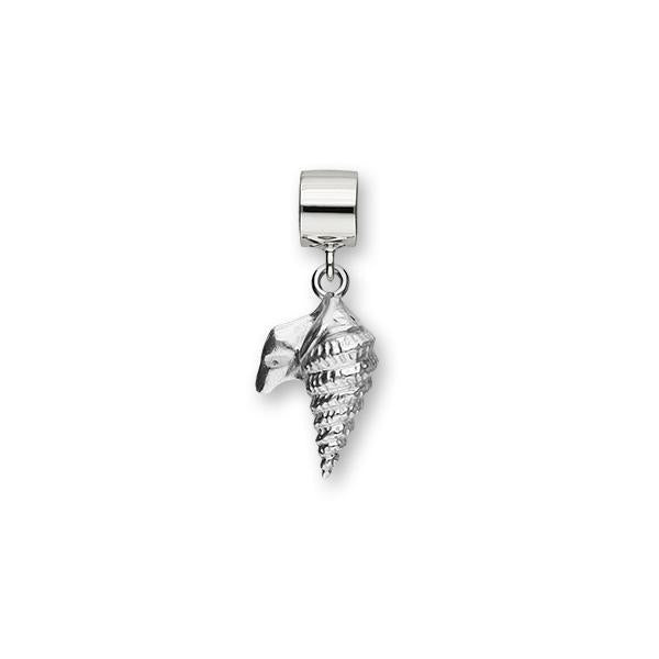 Pelican Foot Shell Silver Charm FC 23
