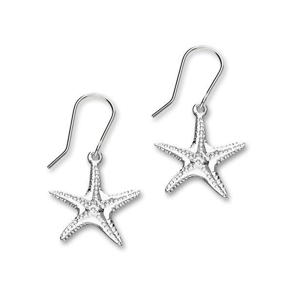 Starfish Silver Earrings FE 47