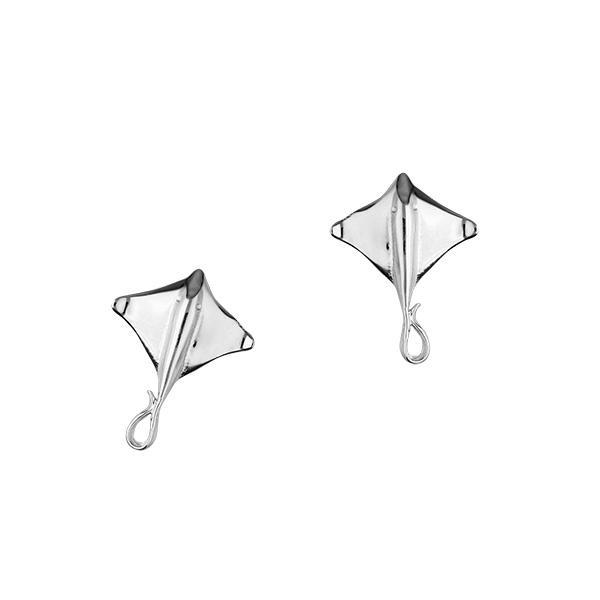 Ray Silver Earrings FE 49