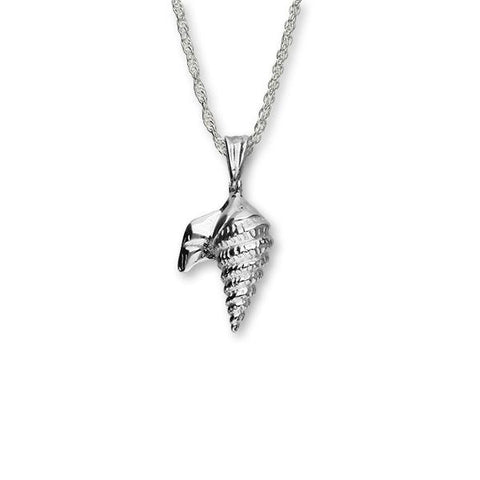 Pelican Foot Shell Silver Pendant FP 35 - P