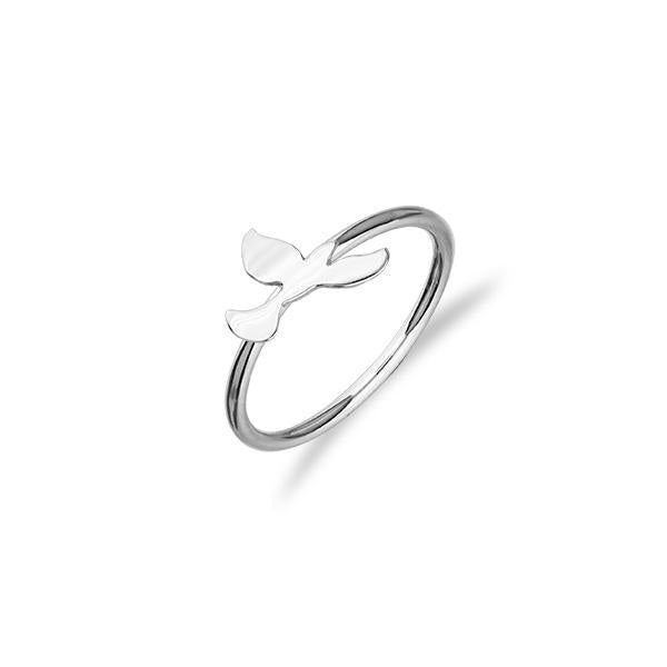 Dove Silver Ring FR 10