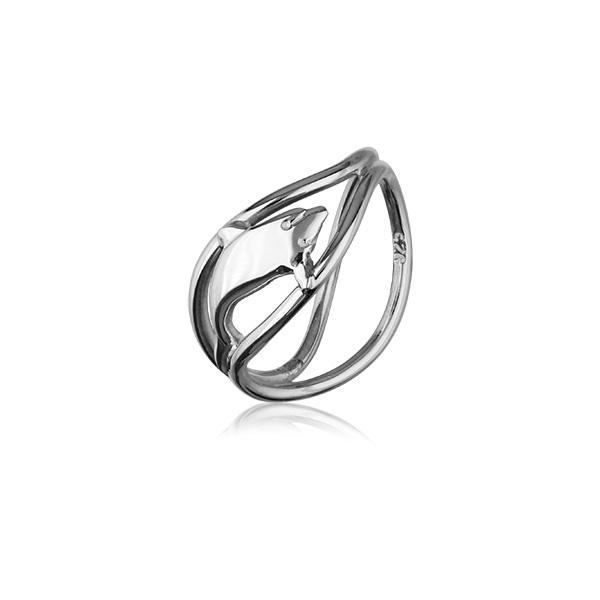 Dolphin Silver Ring FR 12