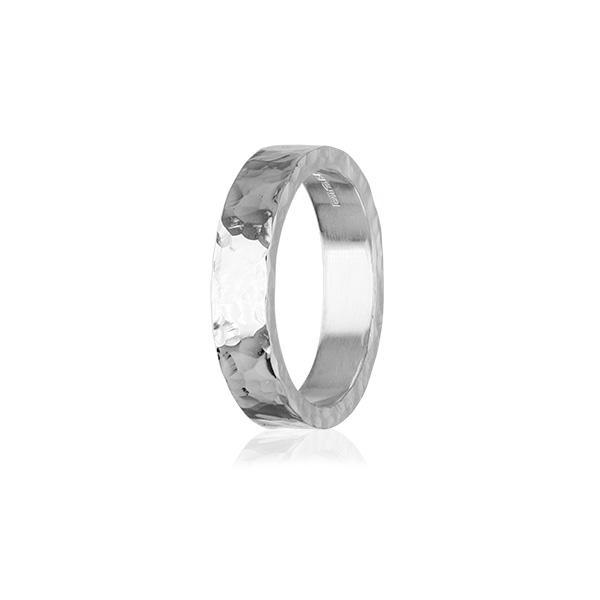 Fire & Ice Silver Ring FR 20