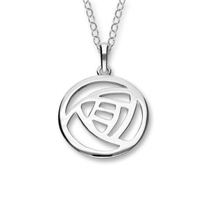 Charles Rennie Mackintosh Silver Pendant P213