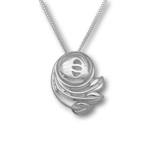 Charles Rennie Mackintosh Silver Pendant P268
