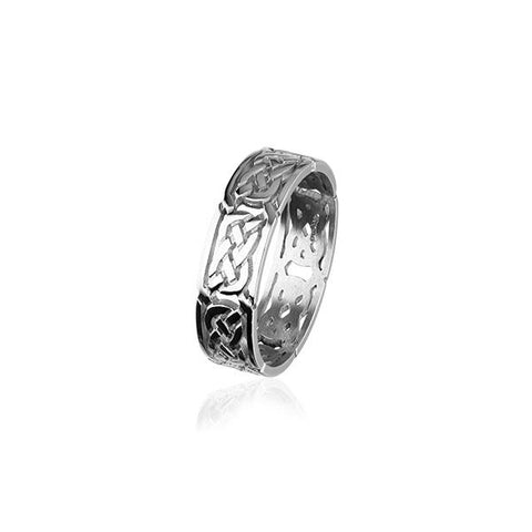Celtic Silver Ring R132