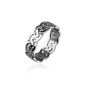 Celtic Silver Ring R142
