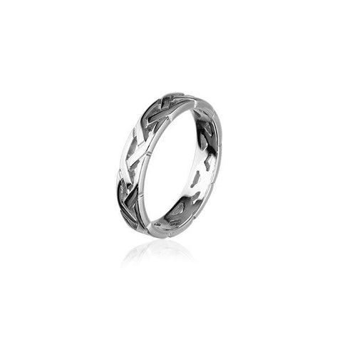 Celtic Silver Ring R156