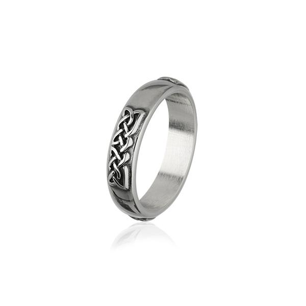 Celtic Silver Ring R317