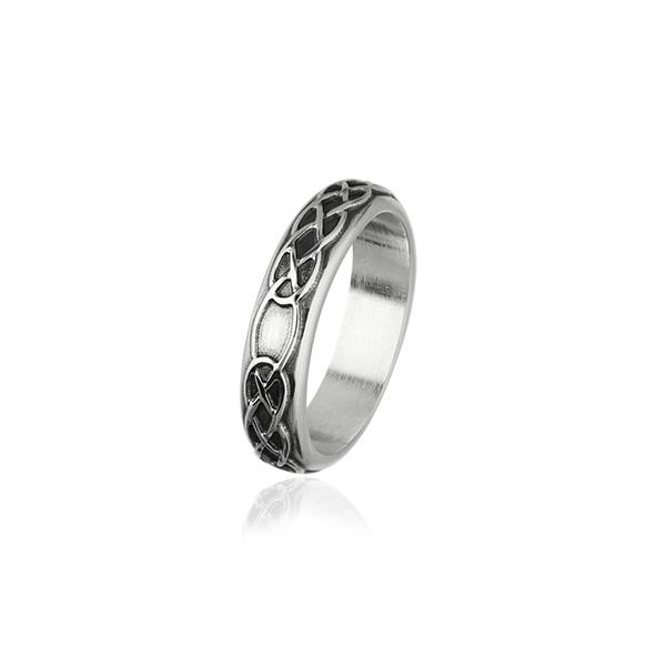 Celtic Silver Ring R319