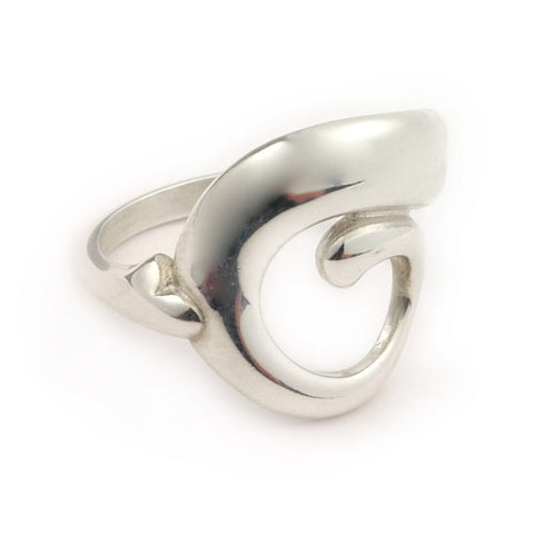 Simply Stylish Silver Ring R337