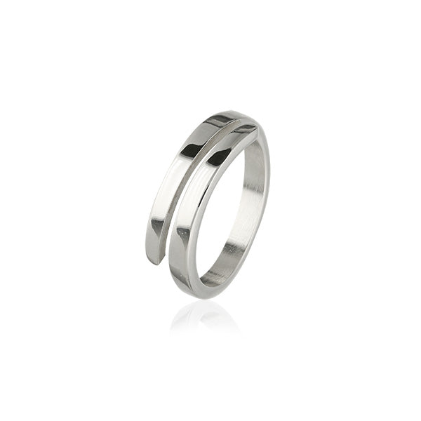 Simply Stylish Silver Ring R391