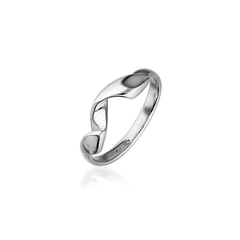 Twist & Shout Silver Ring R397