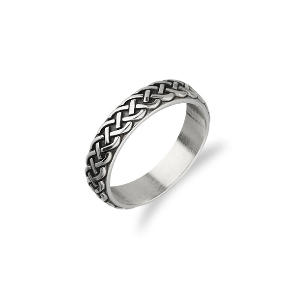 Celtic Silver Ring R402