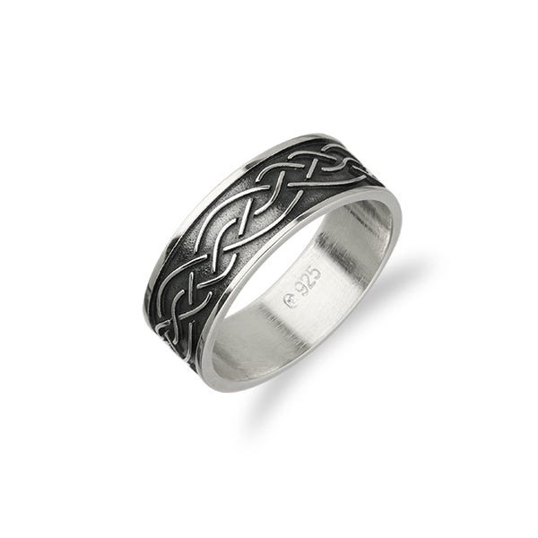 Celtic Silver Ring R403