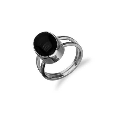 Simply Stylish Silver Ring SR128