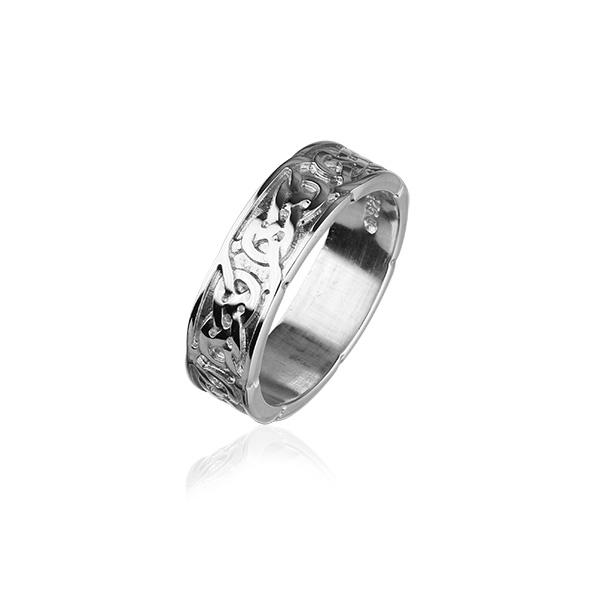 Celtic Silver Ring XR126