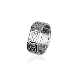 Celtic Silver Ring XR132